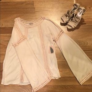 Tops - Pink Forever 21 blouse